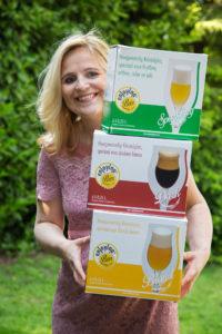 13-05-2016, Blond, Dark, Sprankling, bier glazen, Fiona de Lange, Kristalglas, 0,25 L,