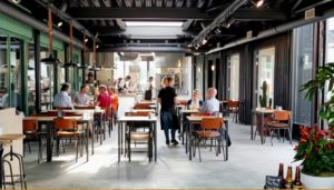 Het restaurant van Brouwerij Hoop