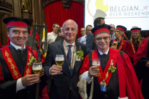 De Belgen hebben Jan-Renier Swinkels eerder dit jaar geridderd.