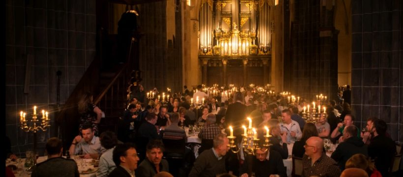 Bierdiner 2016 in de Martinikerk