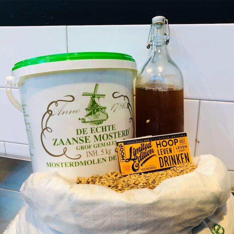 Zaanse Mosterd Tripel brouwerij Hoop