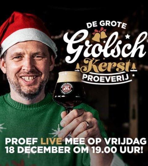 Grolsch Kerst Proeverij