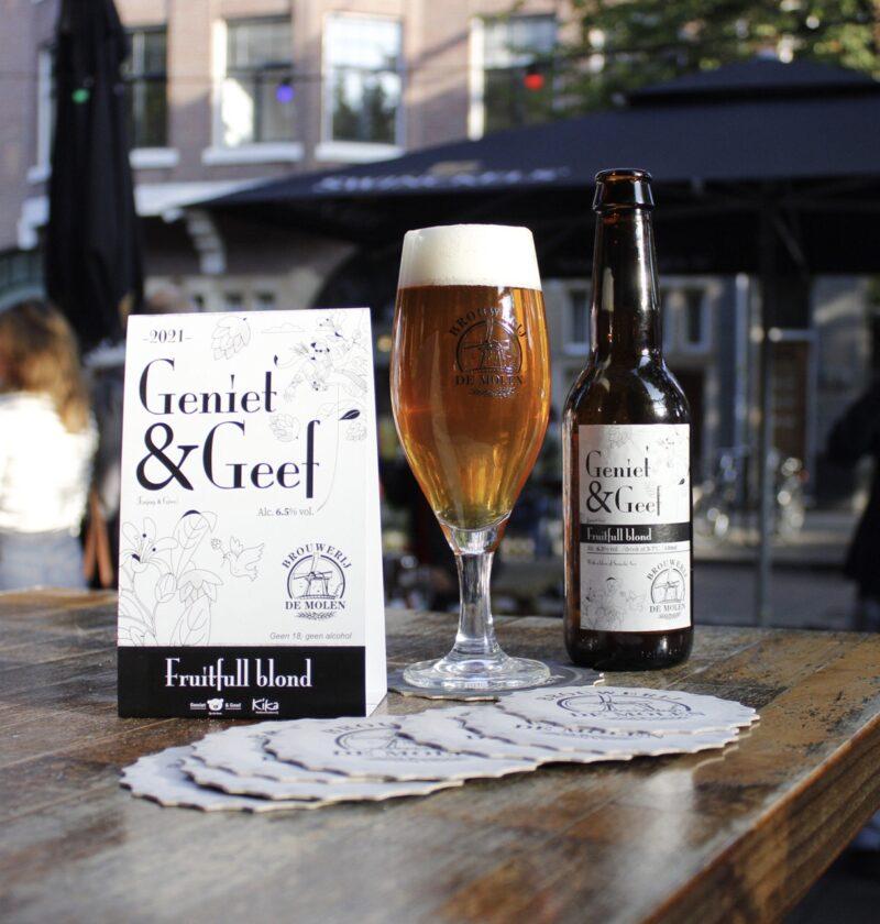 Wilbert Gieske Geniet en Geef bier